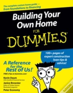 building your own home for dummies peter economy livro wook