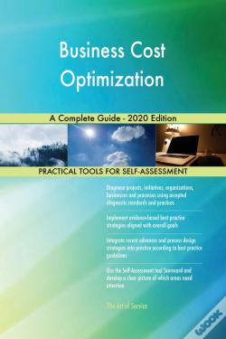 Wook.pt - Business Cost Optimization A Complete Guide - 2020 Edition