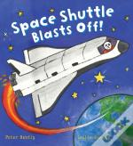 Busy Wheels: Space Shuttle Blasts Off