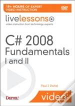 C# 3.0 Fundamentalsi And Ii (Videotraining)