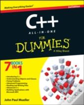 C++ All-In-One For Dummies(R)