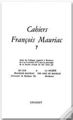 Wook.pt - Cahiers Francois Mauriac T.7
