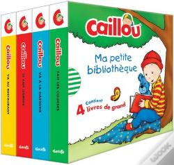 Wook.pt - Caillou Ma Petite Bibliotheque