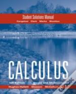 Calculus Combohughes Hallett Student Solutions Manual
