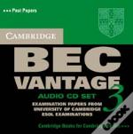 Cambridge Bec Vantage 3 Audio Cd Set