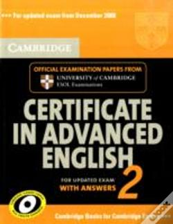 Wook.pt - Cambridge Certificate In Advanced English 2 For Updated Exam Student'S Book With Answers