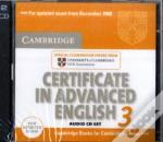 Cambridge Certificate In Advanced English 3 For Updated Exam Audio Cds (2)