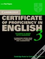 Cambridge Certificate Of Proficiency In English 3 Self Study Pack With Answers