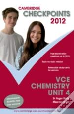 Cambridge Checkpoints Vce Chemistry Unit 4 2012