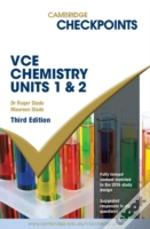 Cambridge Checkpoints Vce Chemistry Units 1 And 2