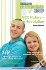 Cambridge Checkpoints Vce History - Chinese Revolution 2009