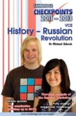 Cambridge Checkpoints Vce History - Russian Revolution 2011-13