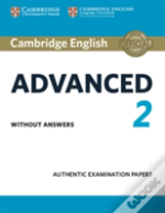 Cambridge English Advanced 2 Student'S Book Without Answers
