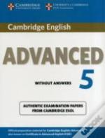 Cambridge English Advanced 5 Student'S Book Without Answers