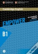 Cambridge English Empower Pre-Intermediate Workbook With Answers With Audio