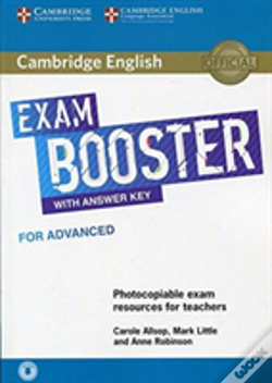 Wook.pt - Cambridge English Exam Booster For Advanced With Answer Key With Audio