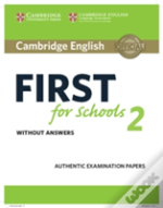 Cambridge English First For Schools 2 Student'S Book Without Answers