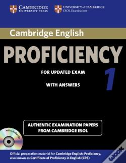 Wook.pt - Cambridge English Proficiency 1 For Updated Exam Self-Study Pack (Student'S Book With Answers And Audio Cds (2))