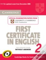 Cambridge First Certificate In English 2 For Updated Exam Student'S Book Without Answers