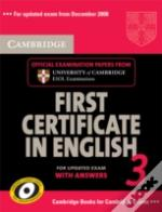Cambridge First Certificate In English 3 For Updated Exam Self-Study Pack (Student'S Book With Answers And Audio Cds)