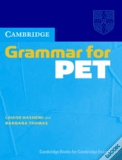 Wook.pt - Cambridge Grammar For Pet  Without Answers