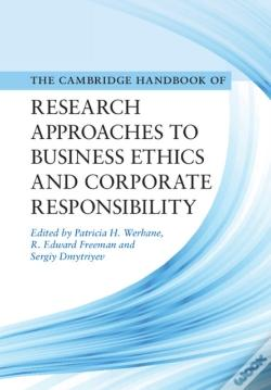 Wook.pt - Cambridge Handbook Of Research Approaches To Business Ethics And Corporate Responsibility