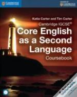 Cambridge Igcse Core English As A Second Language Coursebook With Audio Cd