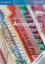 Cambridge Igcse (R) And O Level Accounting Coursebook