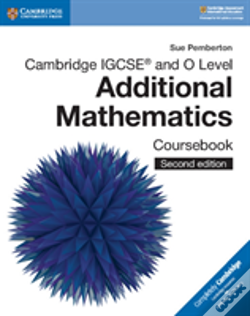 Wook.pt - Cambridge Igcse (R) And O Level Additional Mathematics Coursebook