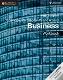 Wook.pt - Cambridge International As And A Level Business Workbook