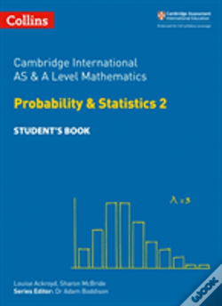 Wook.pt - Cambridge International As And A Level Mathematics Statistics 2 Student Book
