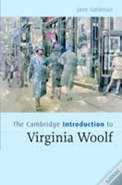 Wook.pt - Cambridge Introduction To Virginia Woolf