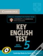 Cambridge Key English Test 5 Student'S Book With Answers