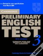 Cambridge Preliminary English Test 3 Student'S Book With Answers