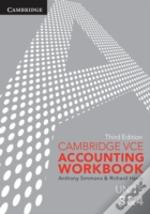 Cambridge Vce Accounting Units 3&4 Workbook