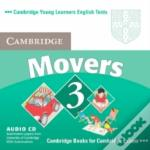 CAMBRIDGE YOUNG LEARNERS ENGLISH TESTS MOVERS 3 AUDIO CD