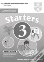 Cambridge Young Learners English Tests Starters 3
