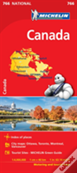 Canada National Map 766