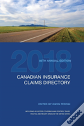 Canadian Insurance Claims Directory 2018