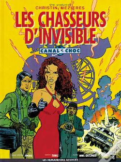 Wook.pt - Canal Choc T.4; Les Chasseurs D'Invisible