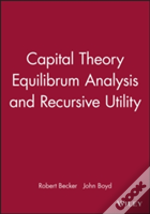 Capital Theory, Equilibrium Analysis And Recursive Utility