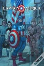 Captain Americared, White And Blue