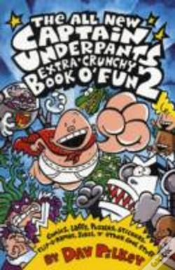 Wook.pt - Captain Underpants Extra-Crunchy Book O' Fun