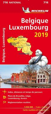 Carte Nationale 716 Belgique, Luxembourg 2019