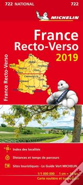 Carte Nationale 722 France Recto-Verso 2019