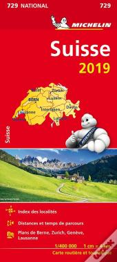 Carte Nationale 729 Suisse 2019