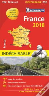 Carte Nationale 792 France Indechirable 18