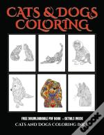 Cats And Dogs Coloring Book