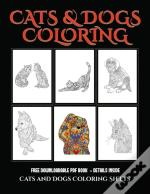 Cats And Dogs Coloring Sheets
