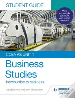 Wook.pt - Ccea As Unit 1 Business Studies Student Guide 1: Introduction To Business